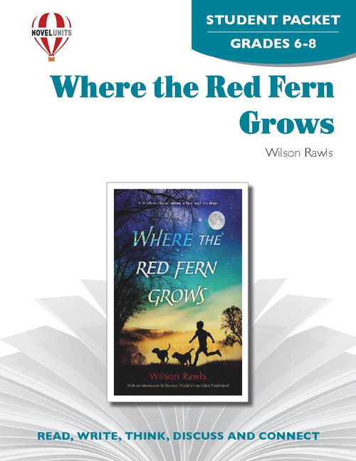 Where The Red Fern Grows Novel Unit Student Packet