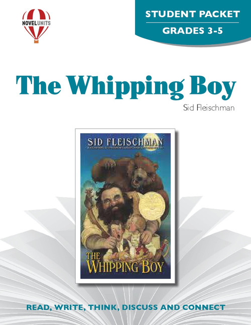 The Whipping Boy Novel Unit Student Packet