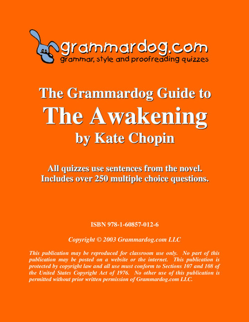 The Awakening Grammardog Guide