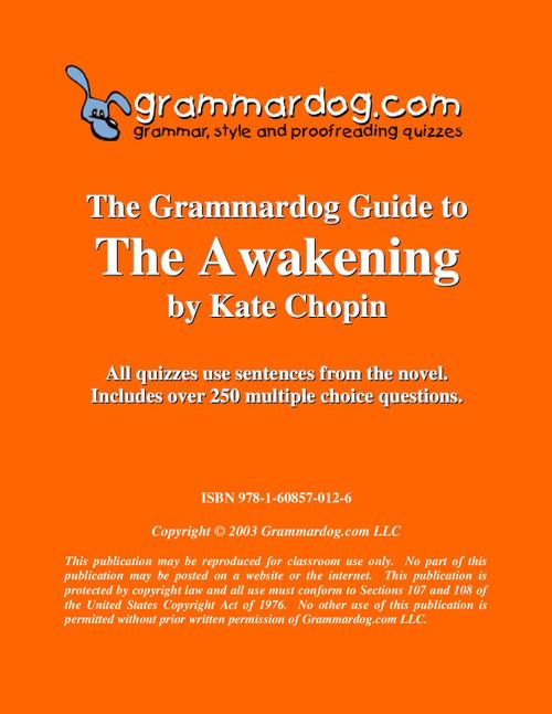 The Awakening Grammardog Guide