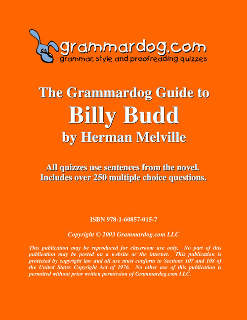 Billy Budd Grammardog Guide