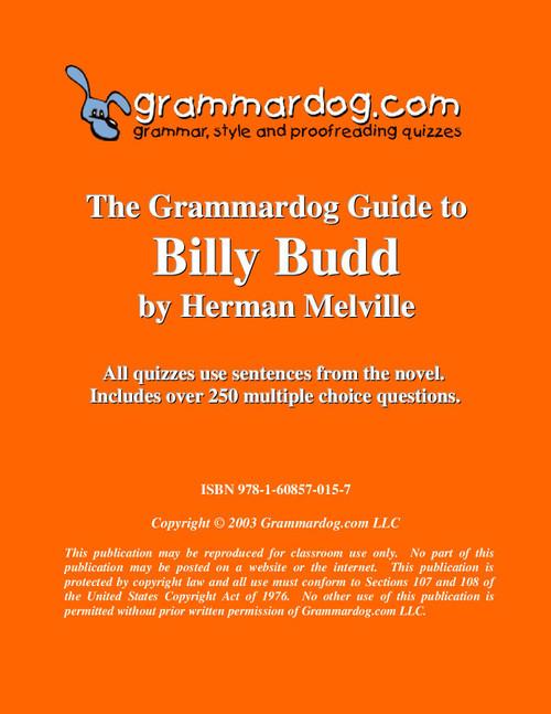Billy Budd Grammardog Guide