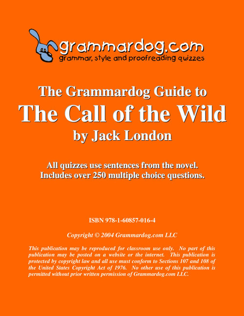 The Call Of The Wild Grammardog Guide