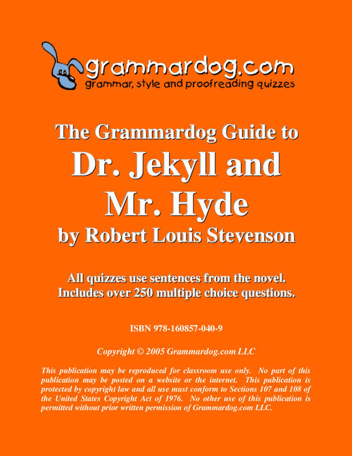 Dr. Jekyll and Mr. Hyde Grammardog Guide