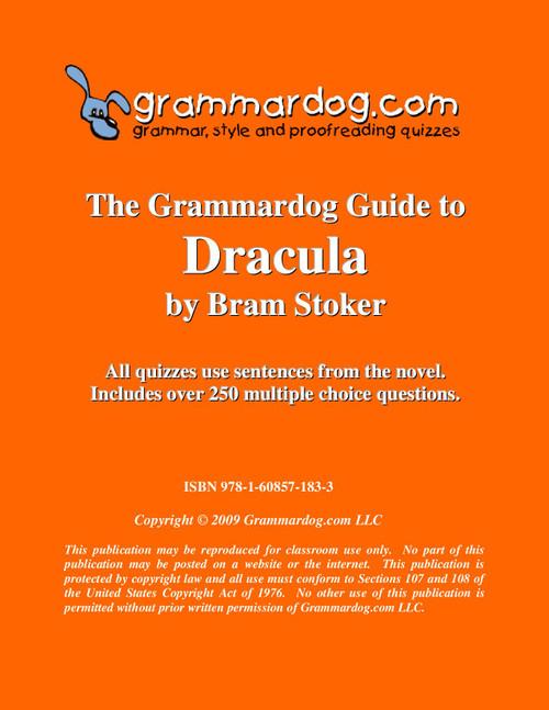 Dracula Grammardog Guide