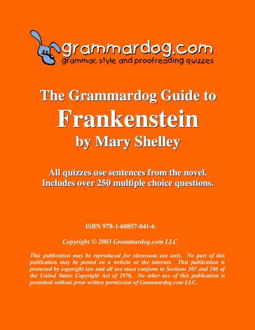 Frankenstein Grammardog Guide