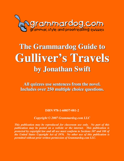 Gulliver's Travels Grammardog Guide