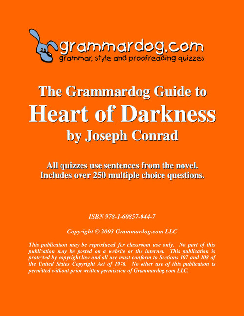 Heart of Darkness Grammardog Guide