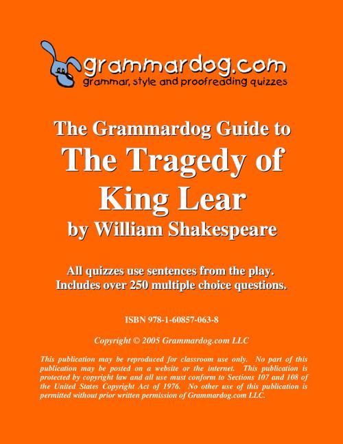 King Lear Grammardog Guide