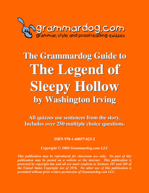 The Legend of Sleepy Hollow Grammardog Guide