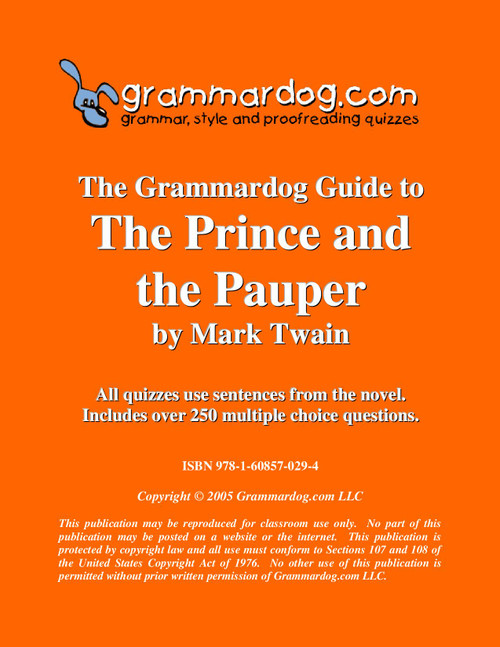 The Prince And The Pauper Grammardog Guide