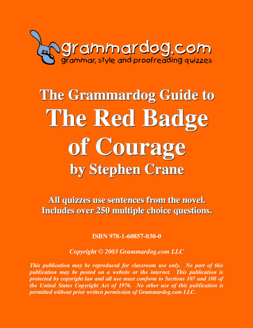The Red Badge of Courage Grammardog Guide
