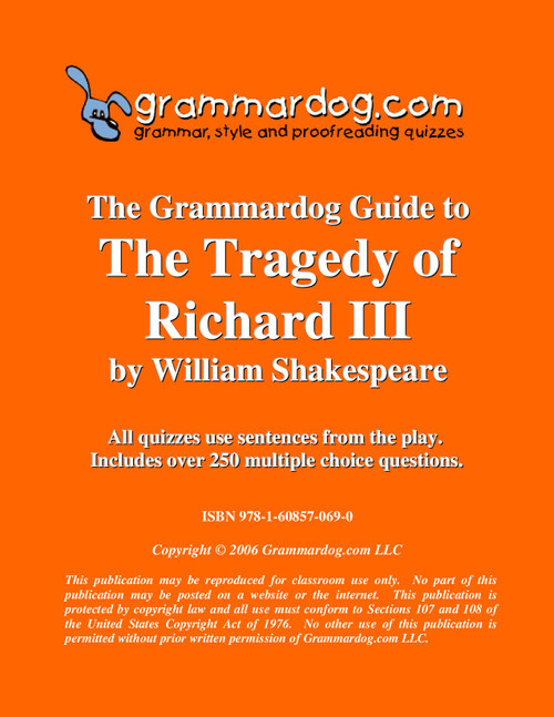 Richard III Grammardog Guide