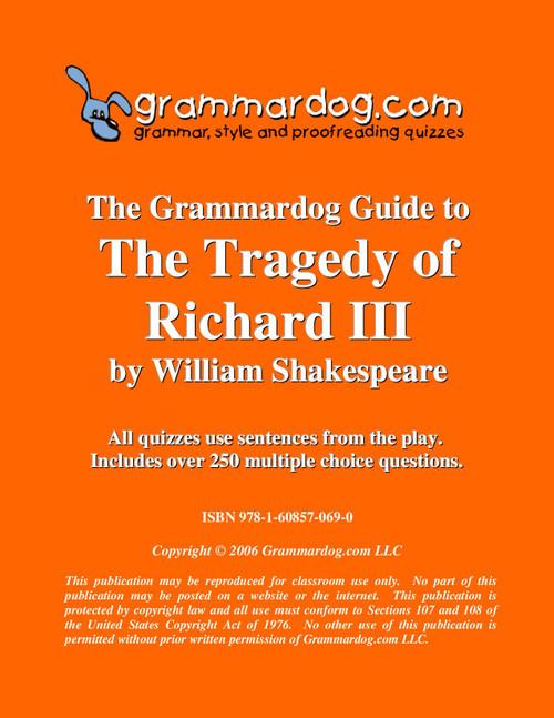 Richard III Grammardog Guide