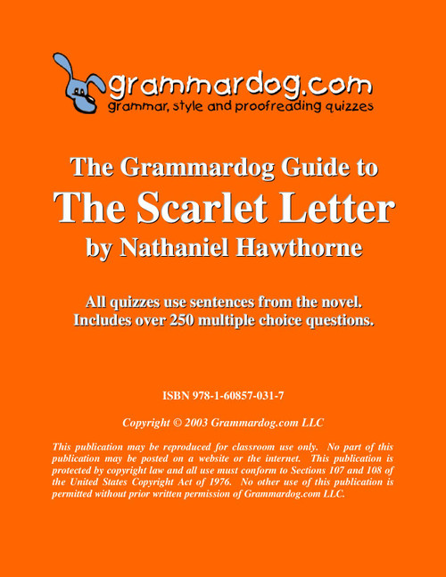The Scarlet Letter Grammardog Guide