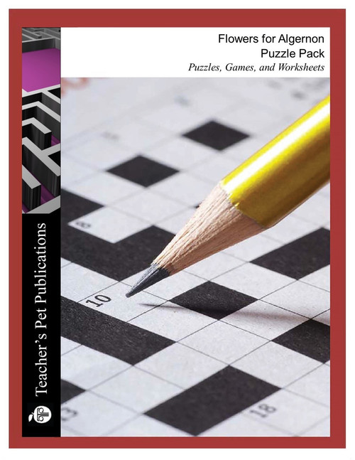 Flowers For Algernon Puzzle Pack Worksheets, Activities, Games