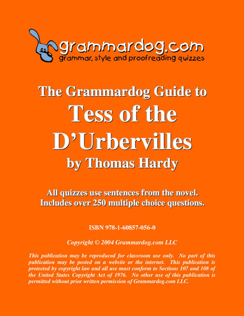 Tess of the d'Urbervilles Grammardog Guide