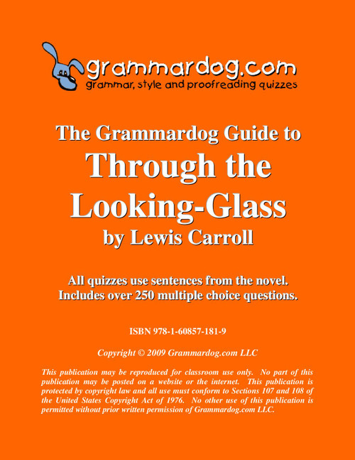 Through The Looking Glass Grammardog Guide