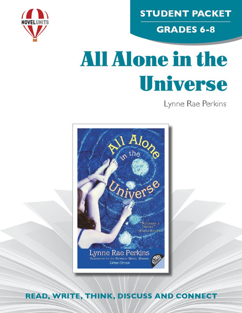 All Alone In The Universe Novel Unit Student Packet