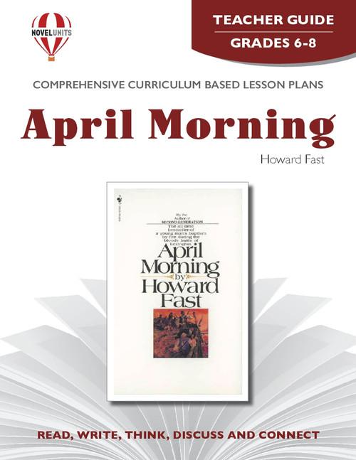 April Morning Novel Unit Teacher Guide