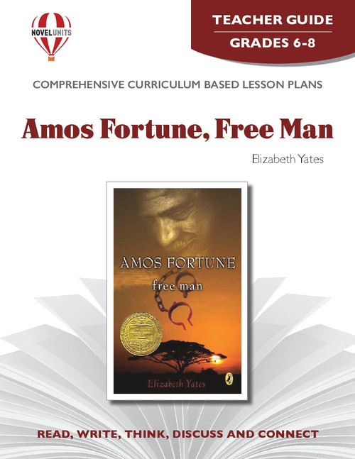 Amos Fortune Free Man Novel Unit Teacher Guide