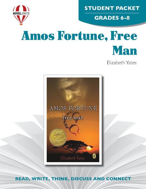 Amos Fortune Free Man Novel Unit Student Packet