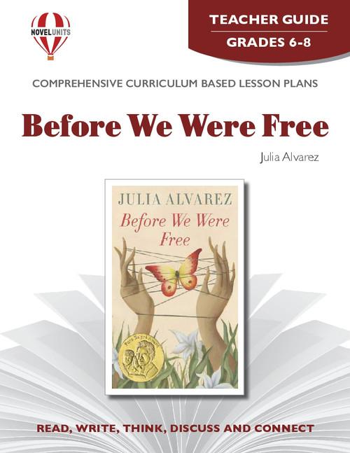 Before We Were Free Novel Unit Teacher Guide
