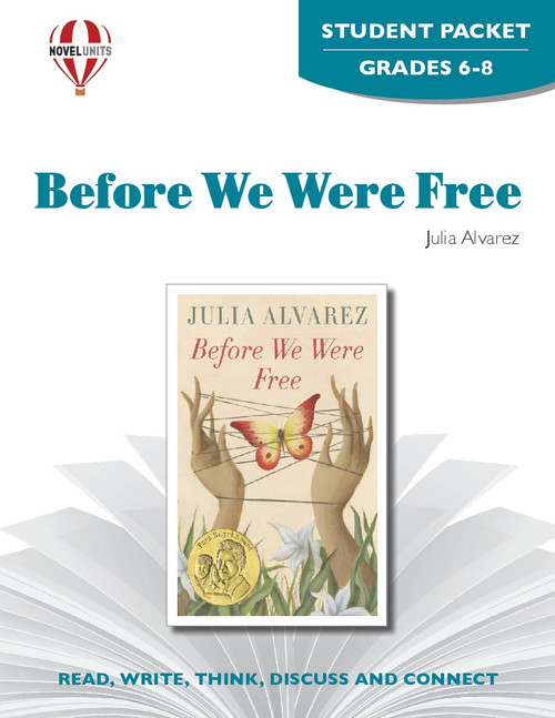 Before We Were Free Novel Unit Student Packet