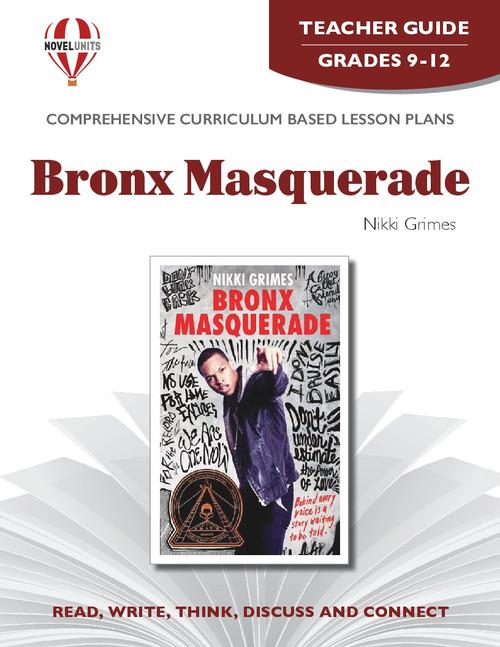 Bronx Masquerade Novel Unit Teacher Guide