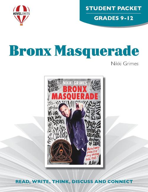 Bronx Masquerade Novel Unit Student Packet
