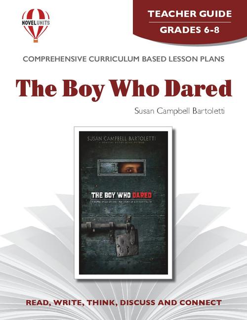 The Boy Who Dared Novel Unit Teacher Guide