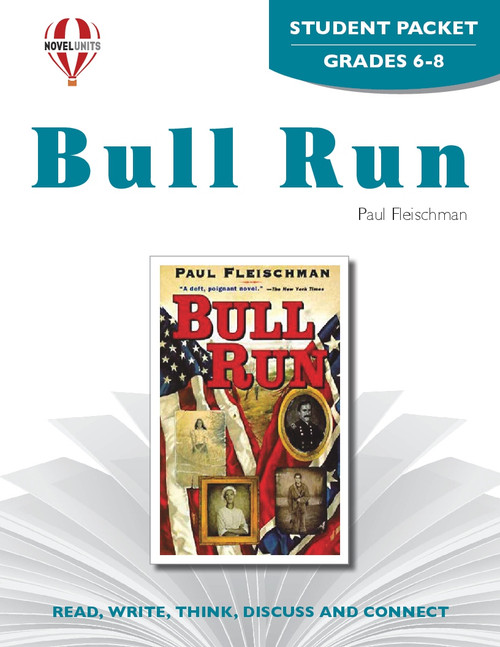 Bull Run Novel Unit Student Packet