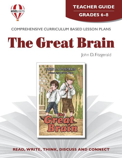 The Great Brain Novel Unit Teacher Guide