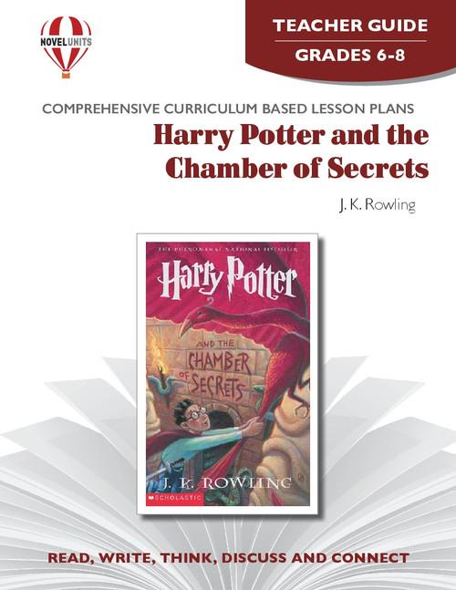 Harry Potter And The Chamber Of Secrets Novel Unit Teacher Guide