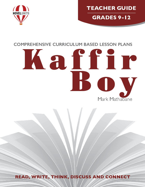 Kaffir Boy Novel Unit Teacher Guide