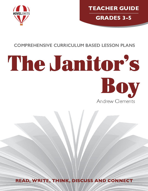 The Janitor's Boy Novel Unit Teacher Guide