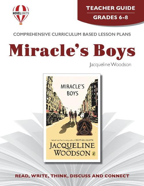 Miracle's Boys Novel Unit Teacher Guide