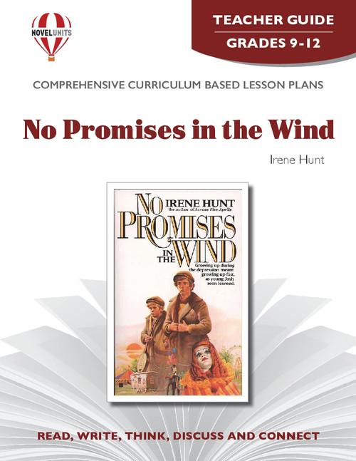 No Promises In The Wind Novel Unit Teacher Guide