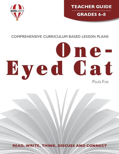 One-Eyed Cat Novel Unit Teacher Guide