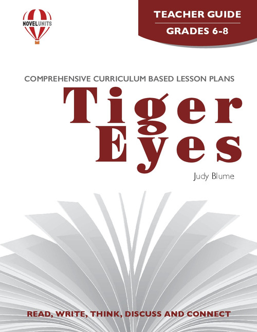Tiger Eyes Novel Unit Teacher Guide