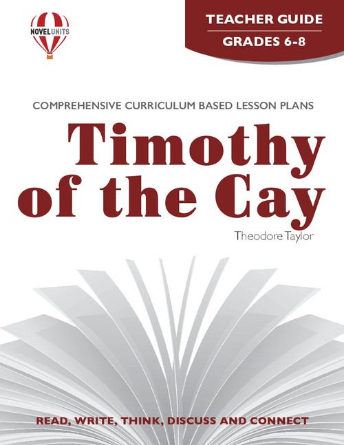 Timothy Of The Cay Novel Unit Teacher Guide