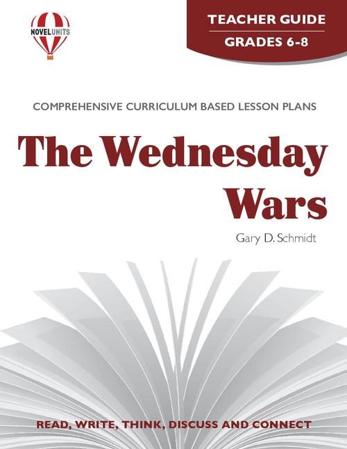 The Wednesday Wars Novel Unit Teacher Guide