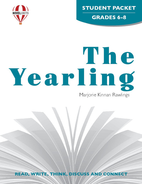 The Yearling Novel Unit Student Packet PDF Download