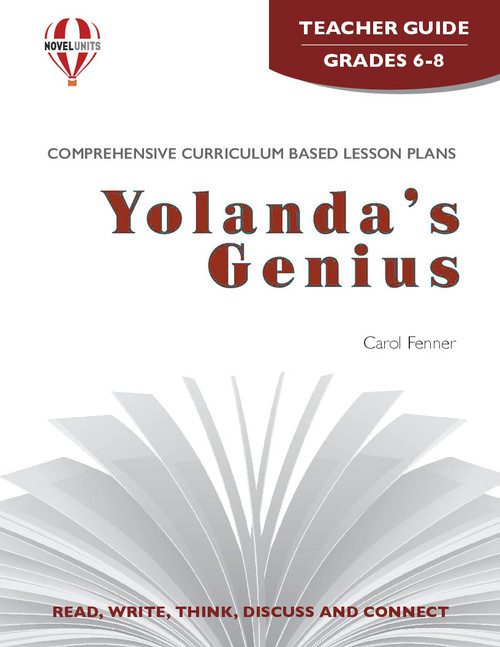 Yolanda's Genius Novel Unit Teacher Guide PDF Download