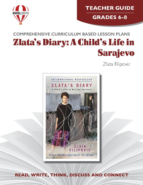 Zlata's Diary: A Child's Life in Sarajevo Novel Unit Teacher Guide