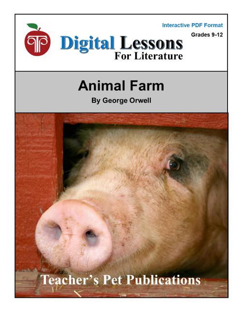Animal Farm Digital Student Lessons