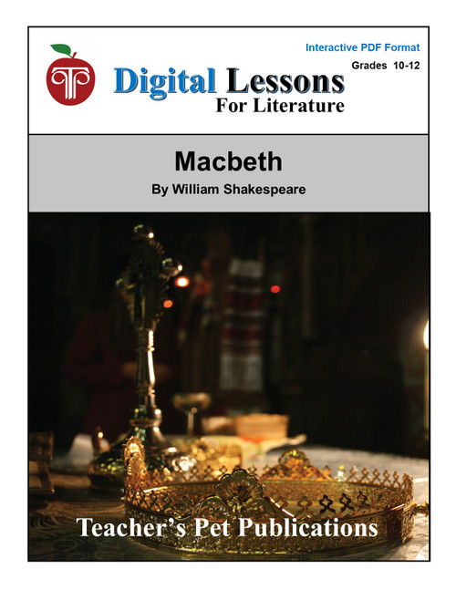 Macbeth Digital Lessons For Literature