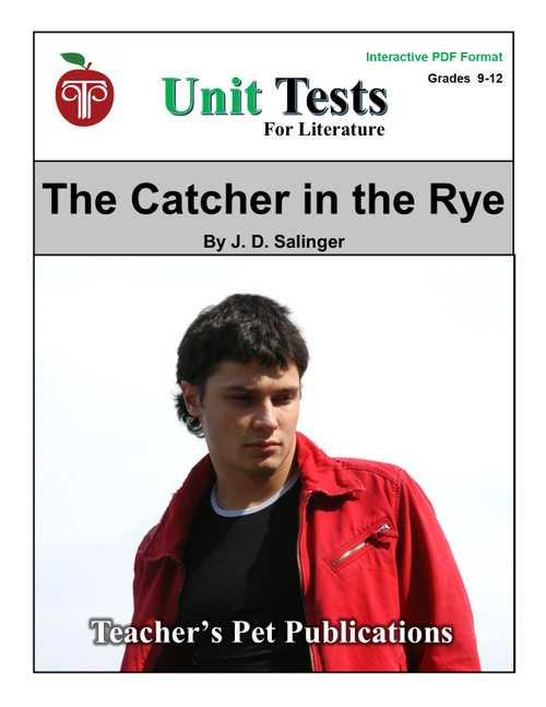 The Catcher in the Rye Interactive PDF Unit Test
