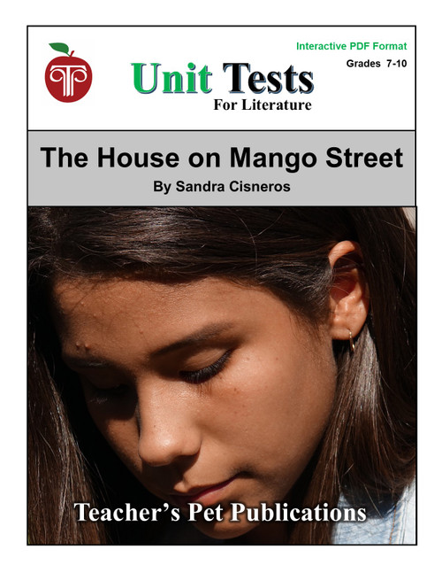 The House On Mango Street Interactive PDF Unit Test