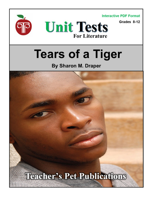 Tears of a Tiger Interactive PDF Unit Test